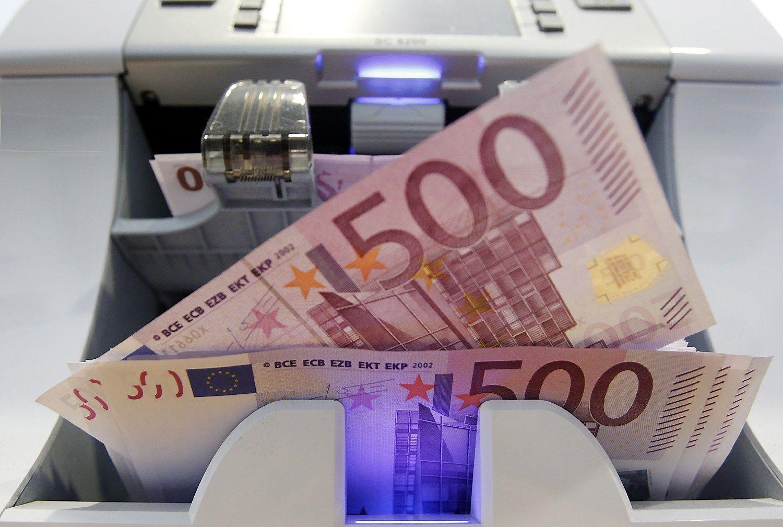 500 Eur banknoto laukia l�ta mirtis