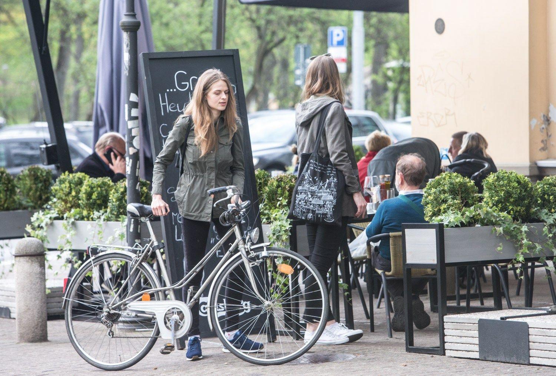 Vilniuje jau išduota per 130 leidimų lauko kavinėms