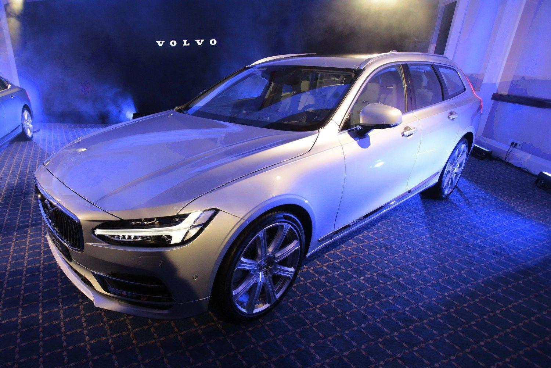 Vilniuje � prabangiausios �Volvo� naujienos