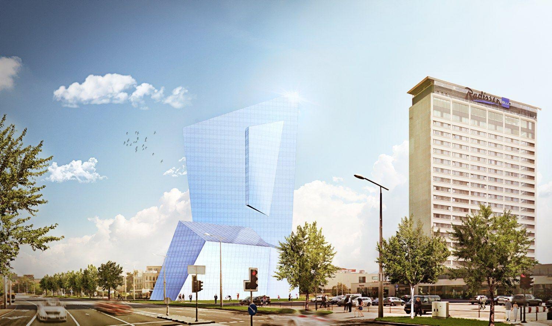 Vilniaus savivaldybė palaiko Libeskindo projektą, tačiau diskusijos nebaigtos