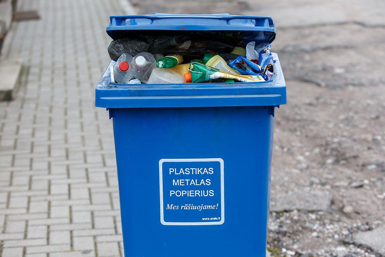 Vilniečiams atliekų tvarkymas brangsta iki12,5%