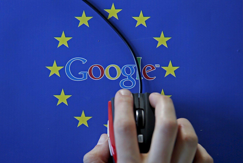 """Reuters"": Europos Komisija šiemet nubaus ""Google"""