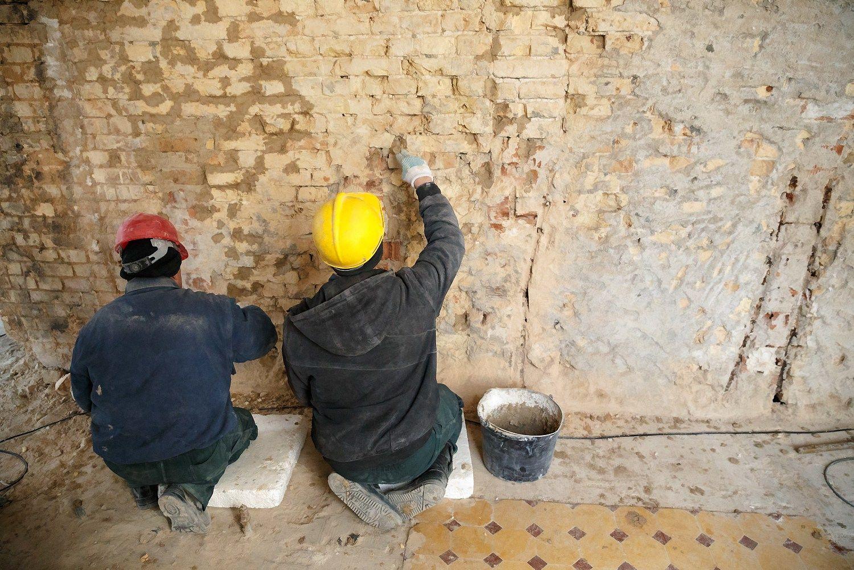 Statybos darb� apimtis ma��jo 6,9%