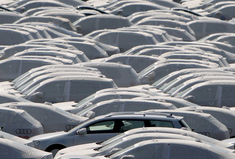 Europos automobili� rinkoje � rekordinis rezultatas