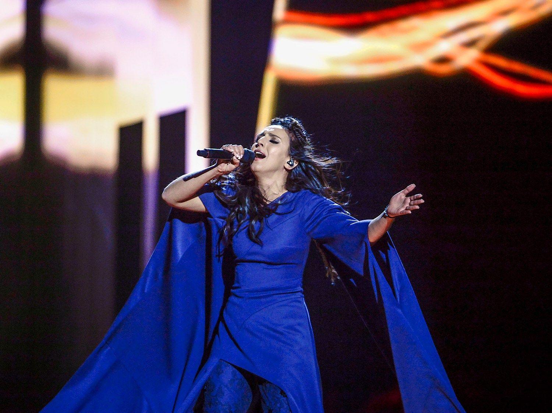 �Eurovizij�� laim�jo Ukraina, Lietuva peln� 9-� viet�