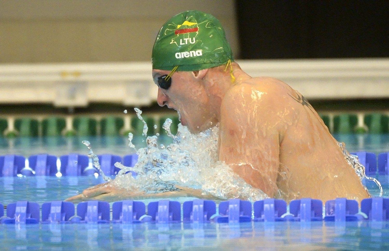 Plaukikas Titenis Londone iškovojo bronzą