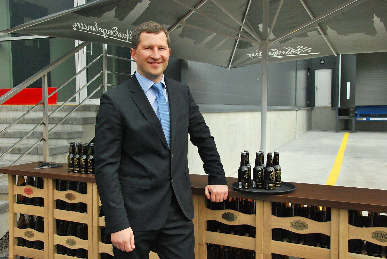 Atidarę naujus sandėlius Kauno aludariai galvoja apie gamybos plėtrą