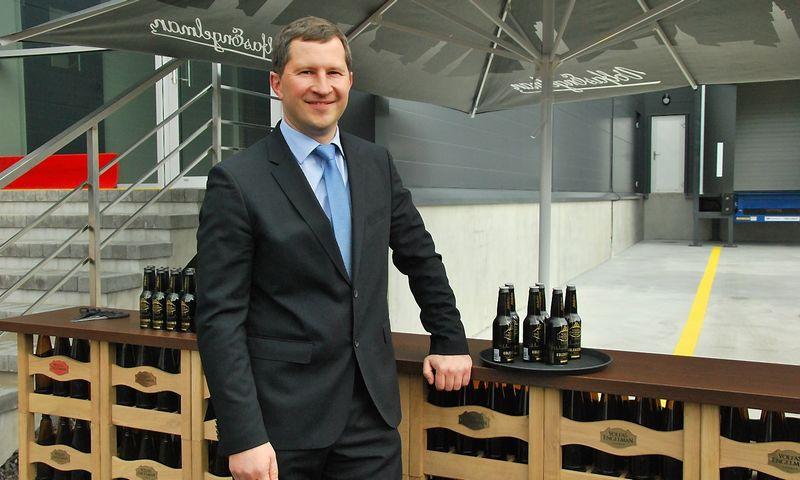 """Marius Horbačauskas, alaus daryklos """"Volfas Engelman"""" vadovas. Indrės Sesartės (VŽ) nuotr."""