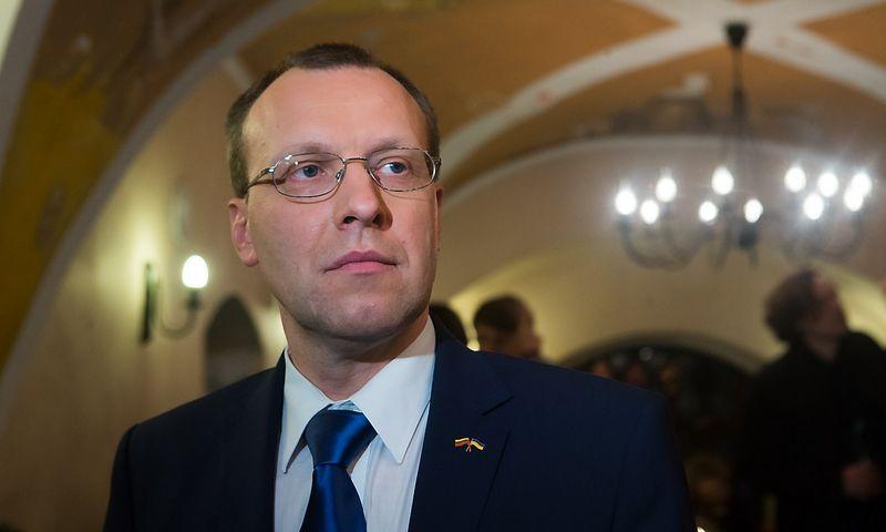Naglis Puteikis, Seimo narys. Juditos Grigelytės (VŽ) nuotr.