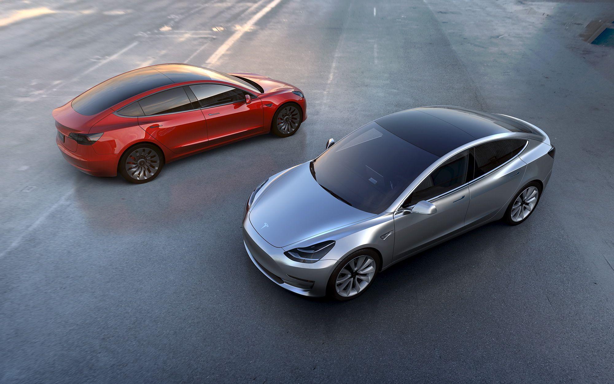 �Tesla� parduos akcij� �Model3� gamybai paspartinti