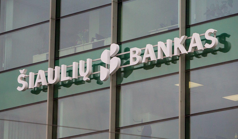 �iauli� bankui leista nud�iuginti akcininkus