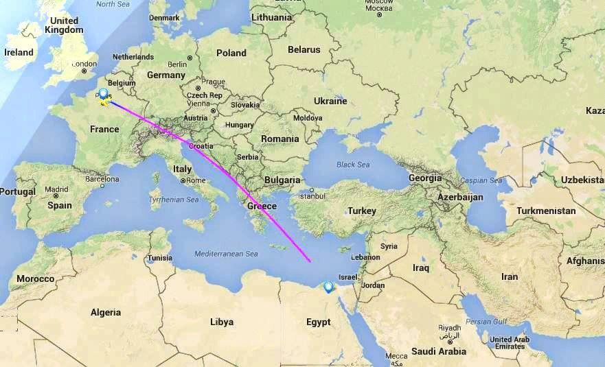 """""""EgyptAir"""" lėktuvas:rastos nuolaužos"""