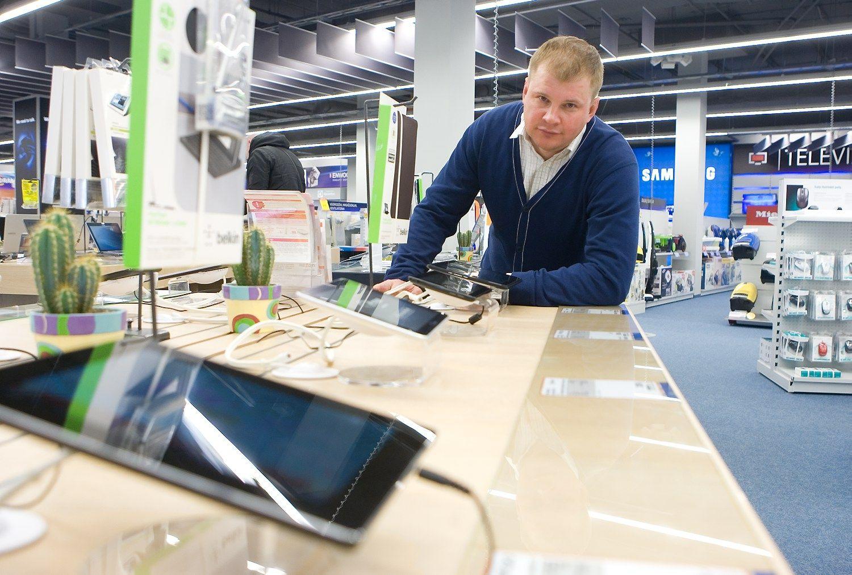 Telefon� rinka prisotinta, pardavimai ma��ja