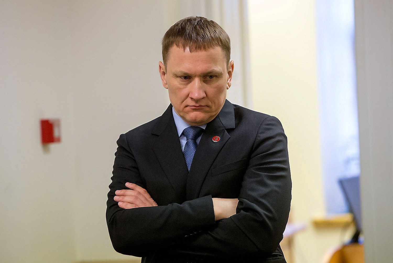 Mindaugas Marcinkevi�ius: VMI man dar� spaudim�
