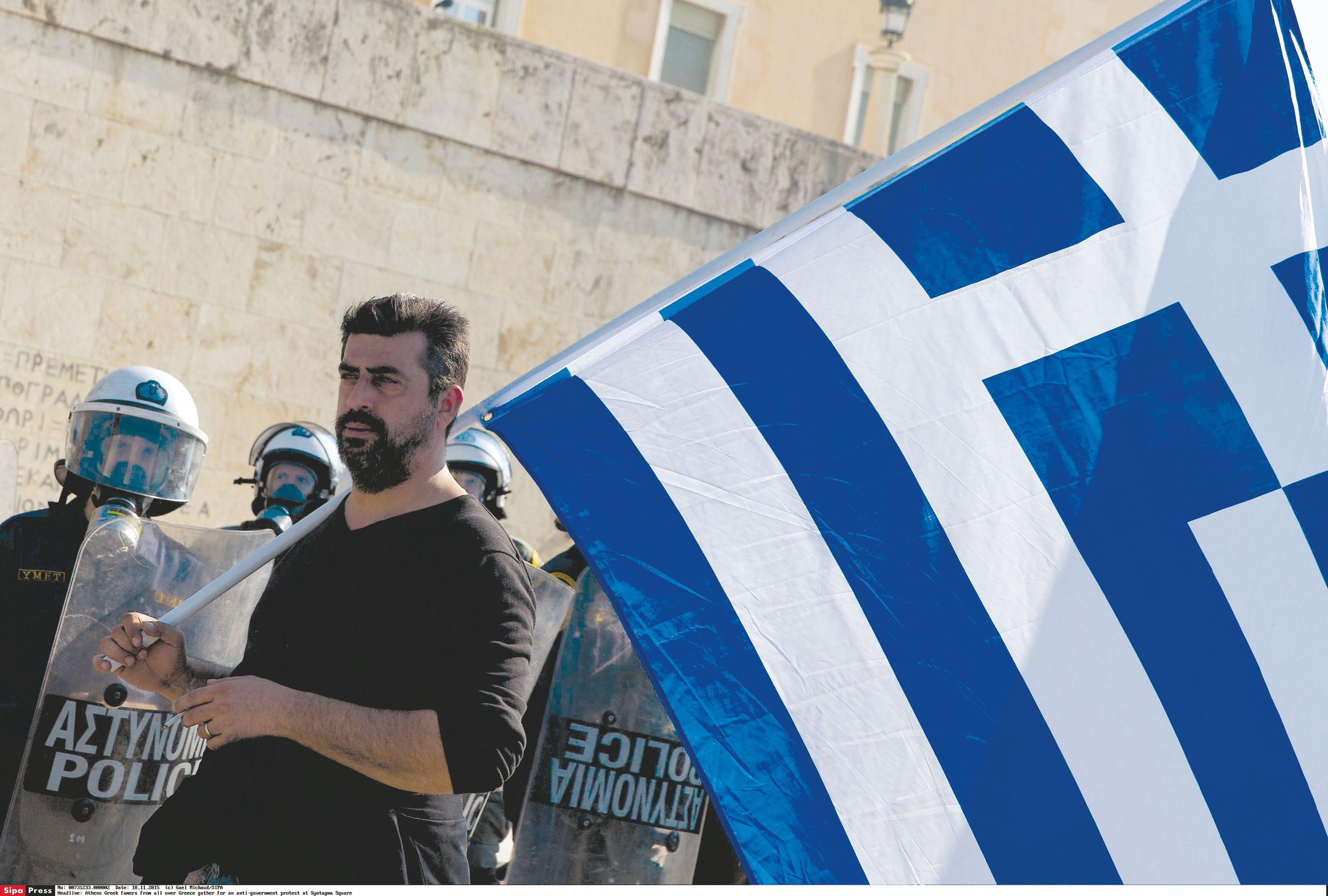 Graikijos skolos tik auga, euro zona �ada pagalb�