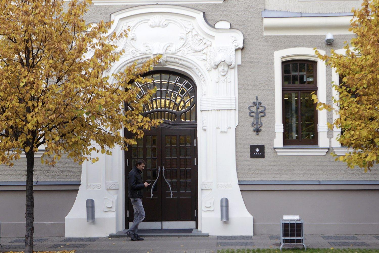 Vienam did�iausi� Latvijos bank� � rekordin� bauda