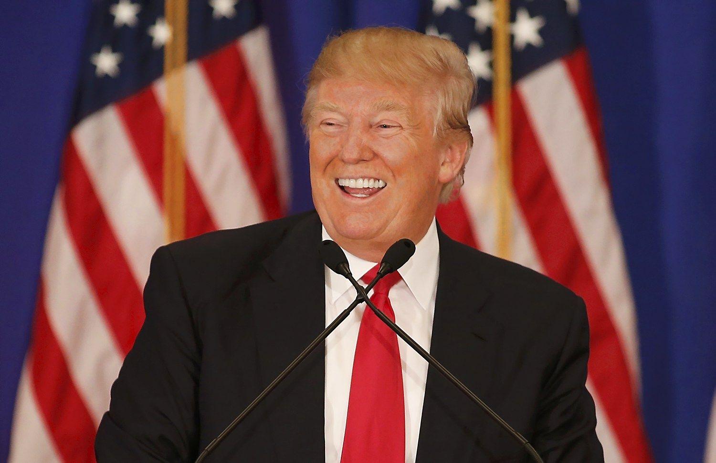 AP: Donaldas Trumpas jau u�sitikrino nominacij�