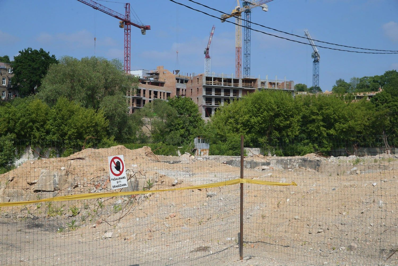 U�strigus᠄Skaiteks� gamyklos projekt� per�m� �MG Valda�
