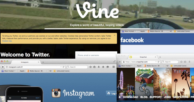 Naujienų dažniau ieškome socialiniuose tinkluose