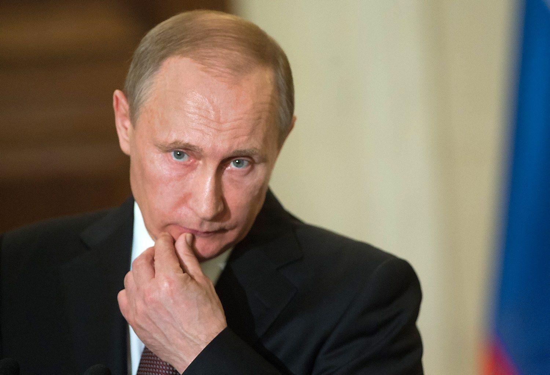 Putinas: n�ra ko diskutuoti apie Krym�