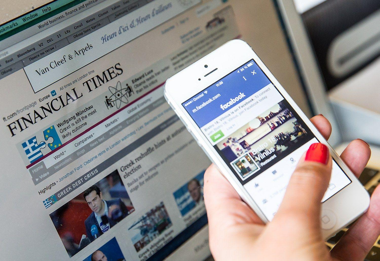 """Dviprasmiškas """"Facebook"""" leidėjų viliotinis"""