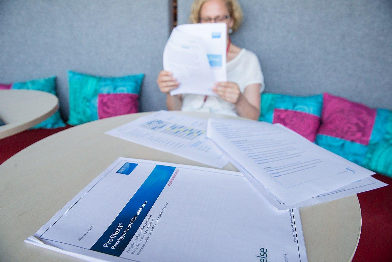 V� bando �ProfileXT� test�: ir darbuotojui �vertinti, ir talentams valdyti