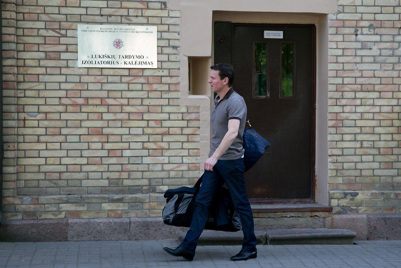 Kurlianskiui – 25.000 Eur užstatas, sąrašas asmenų, su kuriais draudžiama bendrauti