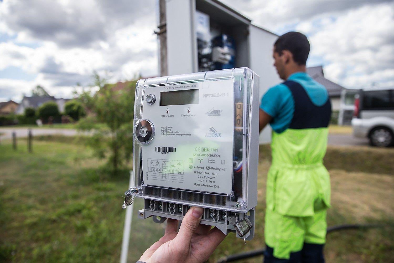 ESO �reng� 3.000 i�mani�j� elektros skaitikli�
