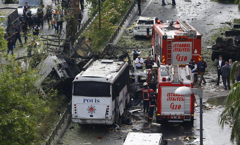 Stambule sprogo bomba, žuvo 11 žmonių