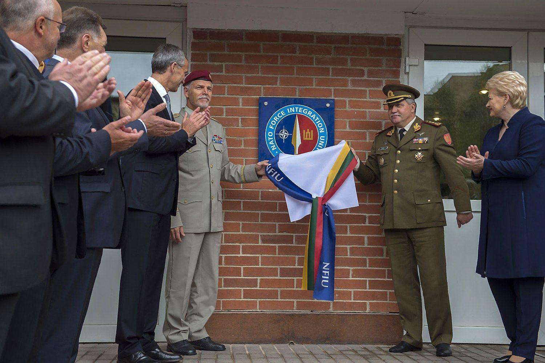 NATO pajėgų integravimo vienetas Lietuvoje pasirengė užduotims