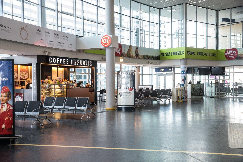 Art�jant koncesijai, kratosi priklausomyb�s nuo oro uosto