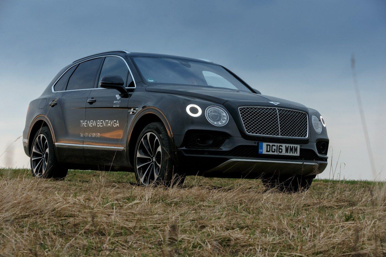 �Bentley� pirmas i� prabangi�j� � �Bentayga�