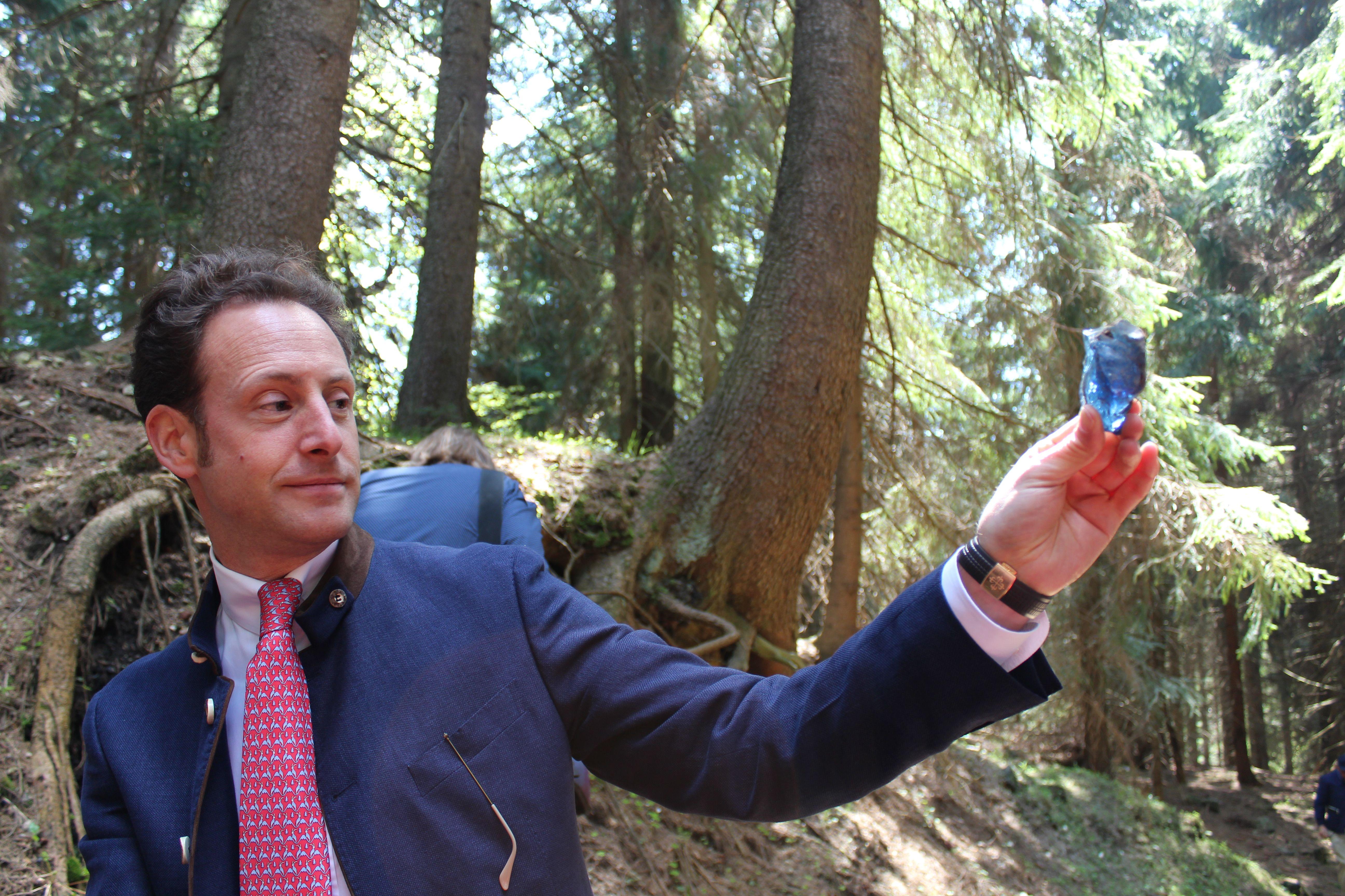 Riedel �eimos verslas: stiklo p�tik� nepakeit� ir 260 met� istorija