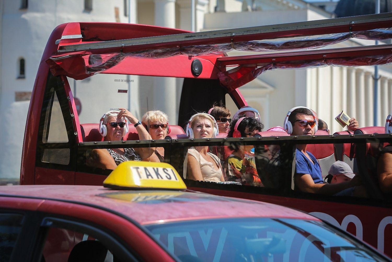 Turistams labiausiai patinka Vilnius, o atgraso viešasis transportas
