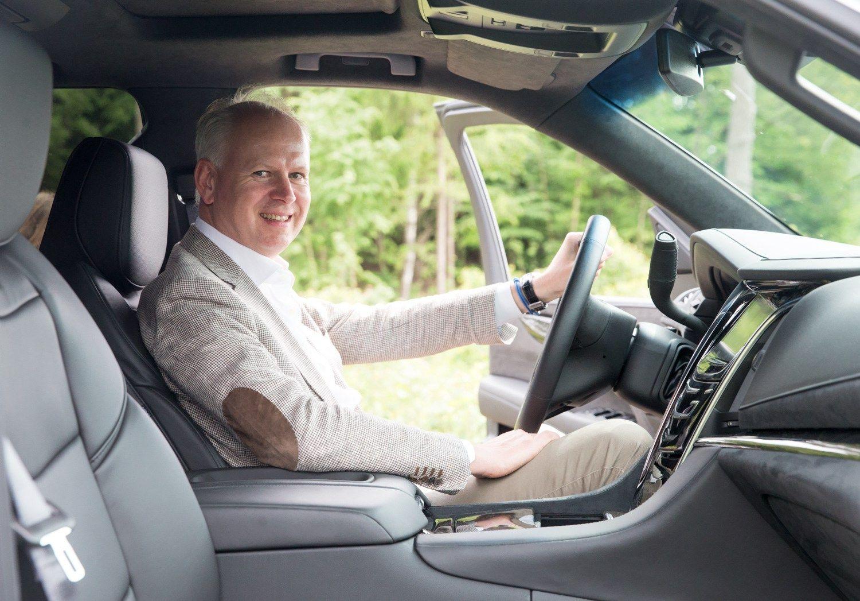 Vir�ilas apie �Cadillac�: ne�inau, kaip reaguo�iau � vadov� tokiame automobilyje