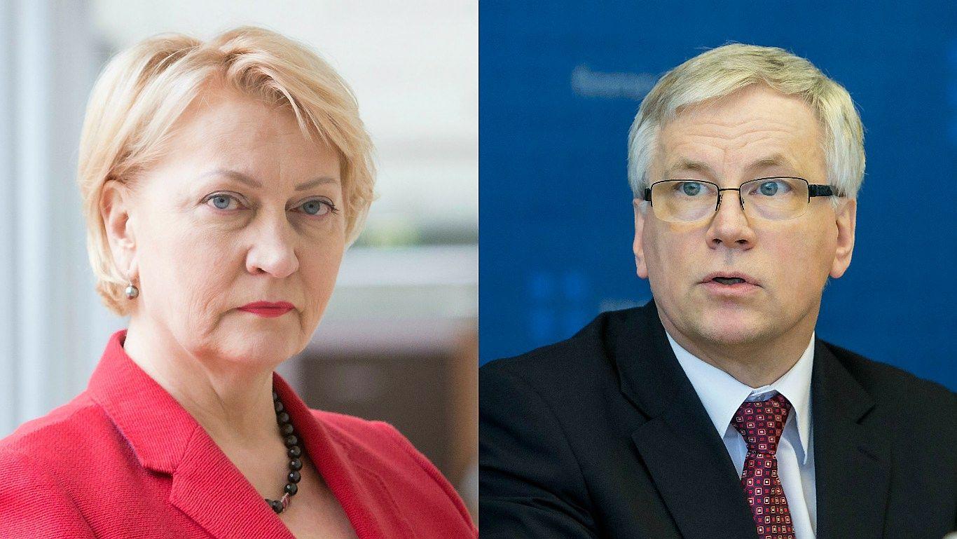 Šadžius atleistas iš finansų ministrų, į juos pasiūlyta Budbergytė