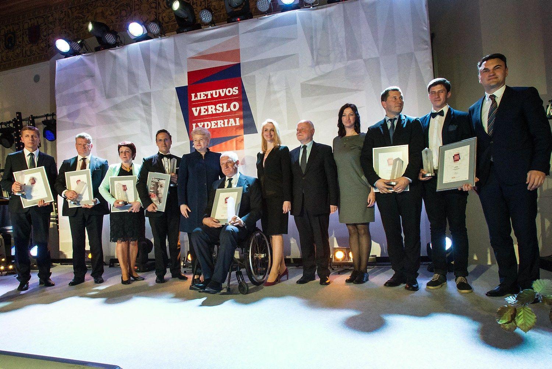 Apdovanoti verslo lyderiai, i�rinktas Met� CEO