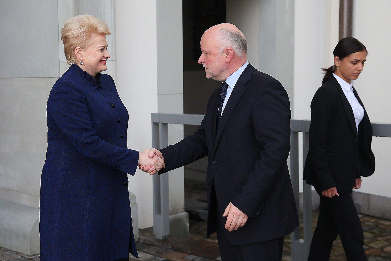 Prezidentė: verslas kovojo ir per dvejus metus išvedė Lietuvą iš krizės