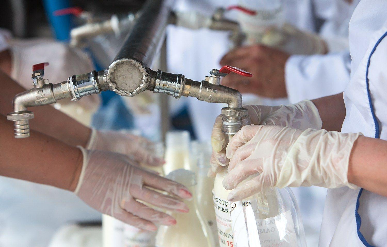 Pieno gamintojams – 17 mln. Eur paramos iš biudžeto