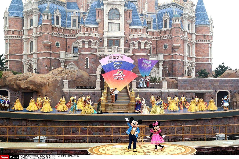 �anchajuje atidarytas �Disneyland� parkas u� 5,5 mlrd. USD