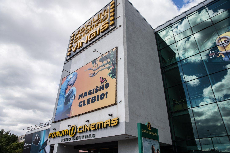 """Teismas atmetė""""Forum Cinemas"""" skundą dėl 1,4 mln. Eur baudos"""