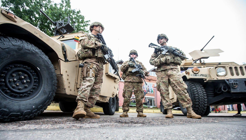 VŽ paaiškina: kiek NATO karių bus Lietuvoje