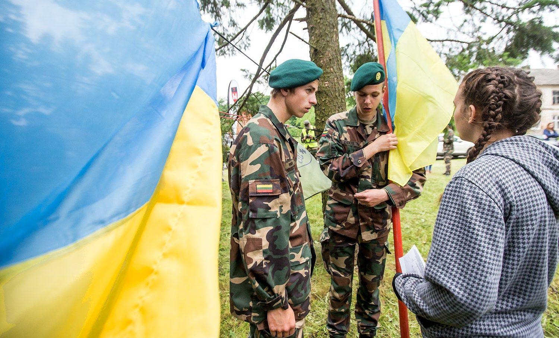 P�s�i�j� �ygis ��aulio takas� Ukrainos vaikams paremti