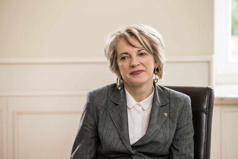 Asta Skaisgirytė, Lietuvos Respublikos nepaprastoji ir įgaliotoji ambasadorė Jungtinėje Didžiosios Britanijos ir Šiaurės Airijos Karalystėje. Juditos Grigelytės (VŽ) nuotr.