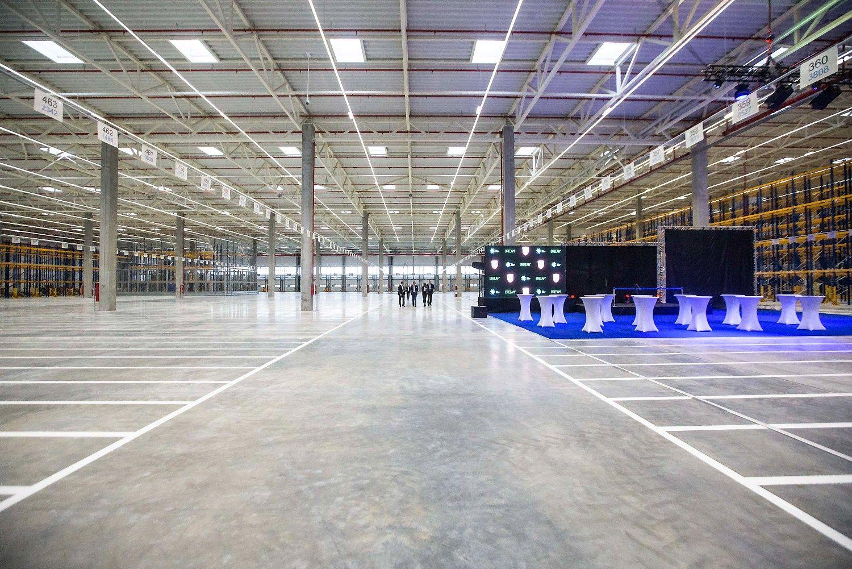 Tarp geriausi� NT projekt� � ir �Lidl� logistikos centras