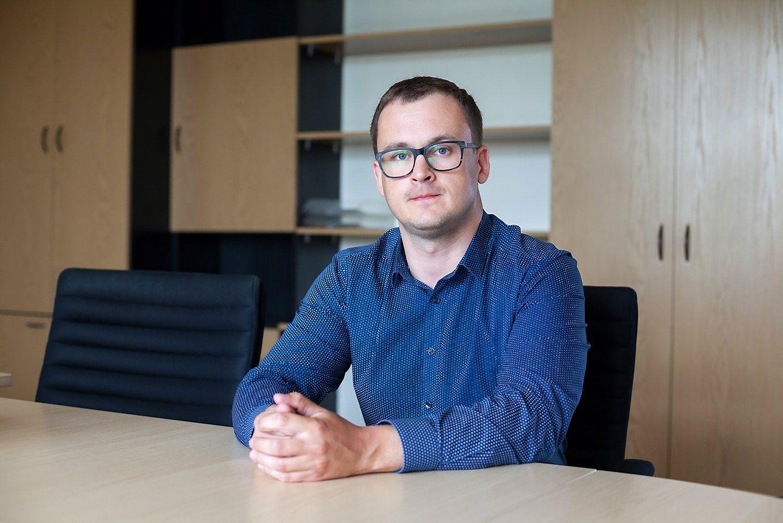 �Vilniaus vystymo kompanijai� vadovauja Andrius Velutis