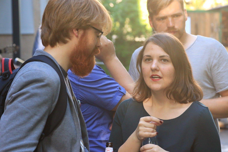 Vilniuje - startuoli� i�kyla