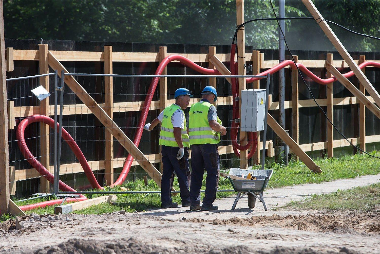 Did�iausias nuomos sandoris: prad�tos �Danske Bank� biuro statybos