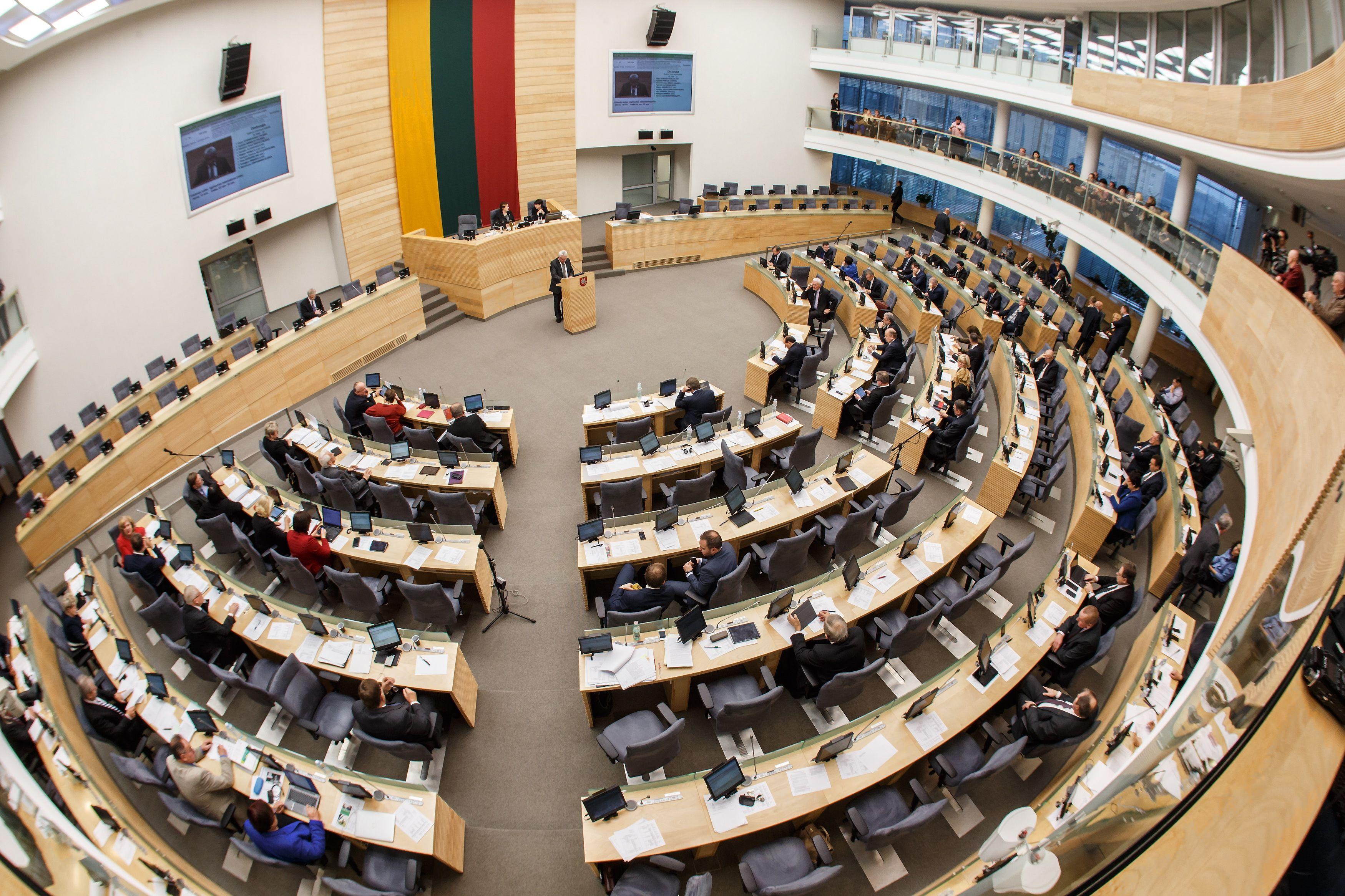 Seimas pritar� �Sodros� �mok� �lub� projektui