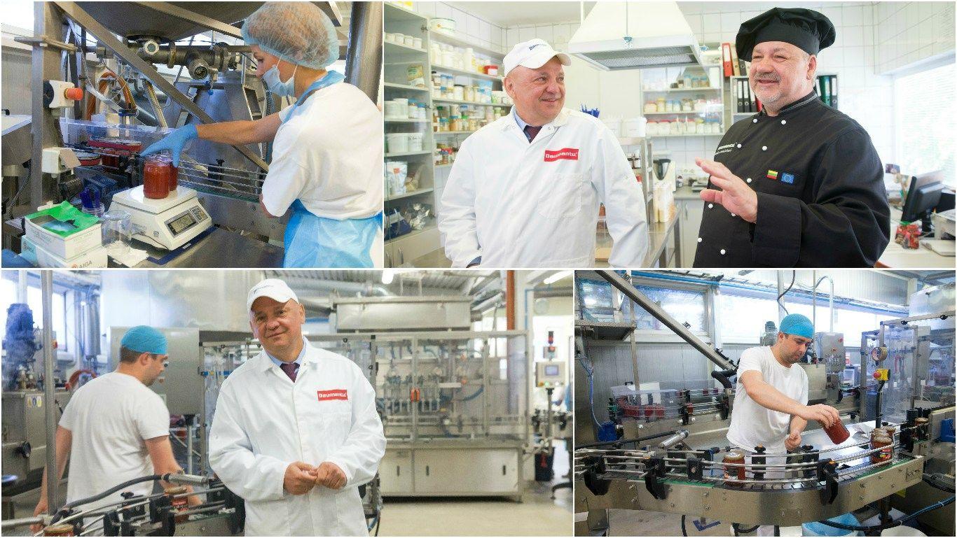 �Daumantai LT� verslo istorija: nuo kibiro iki gamyklos